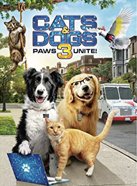 Cats and Dogs 3-Paws Unite!