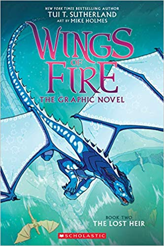 The Lost Heir: Wings of Fire Graphic Novel #2